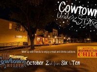 Cowtown Under the Stars October 2, 2020
