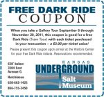 Underground Salt Museum coupon -- free dark ride with each ticket purchased