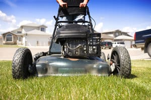 Youth Lawn Mowing Clinic in Wichita
