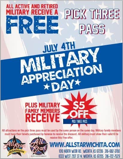 FREE pass at All Star Wichita Military Appreciation Day