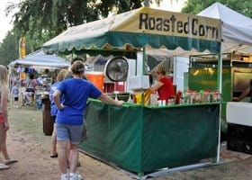 roasted corn sedgwick county fair cheney ks