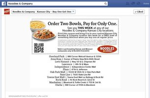 graphic about Noodles and Company Printable Coupons known as Noodles co discount coupons : Pompano coach station