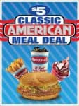 Spangles $5 Classic American Meal Deal