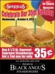 Spangles Birthday BOGO: Buy One Gourmet Supreme, Get One for 35¢