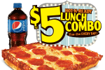 Little Caesars $5 Hot n Ready lunch combo