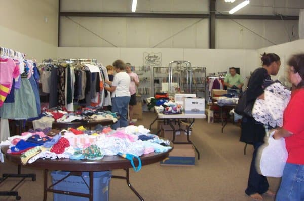 Free clothing give away for Fish stores wichita ks