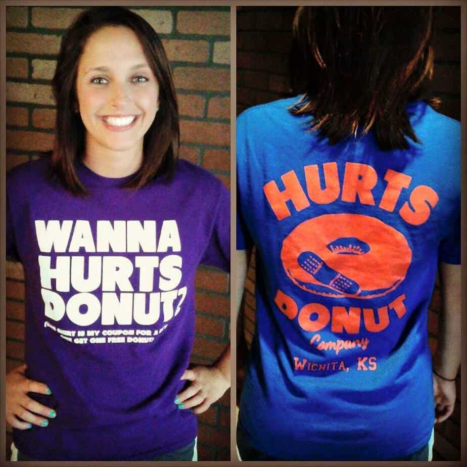 Hurts Donut T Shirt Is Your Coupon For A Free Donut