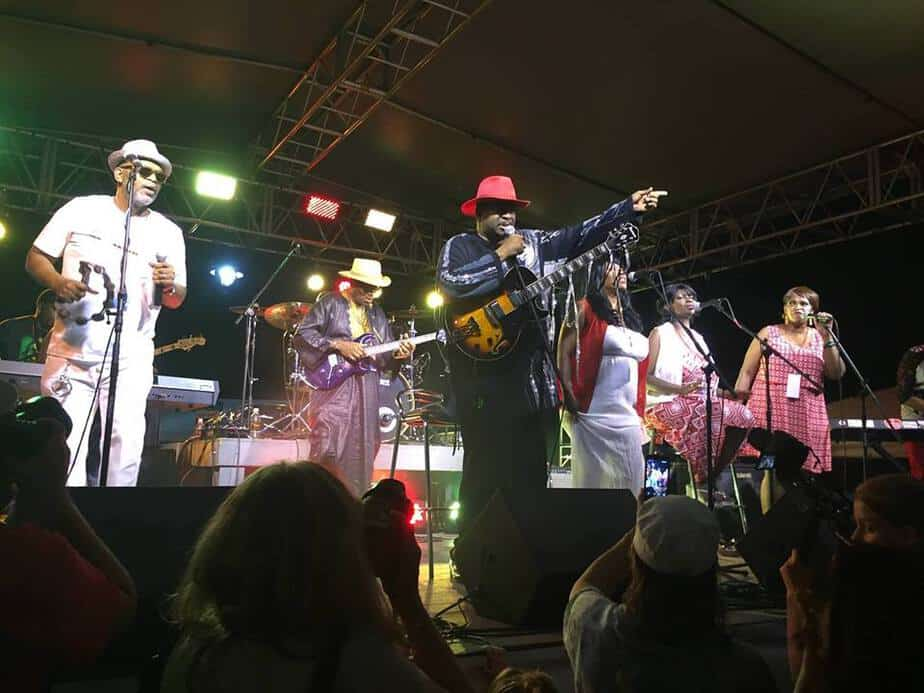 Rudy Love and the Love Family in concert