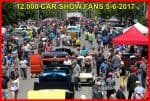 Downtown Newton car show crowds - thousands of people attended!