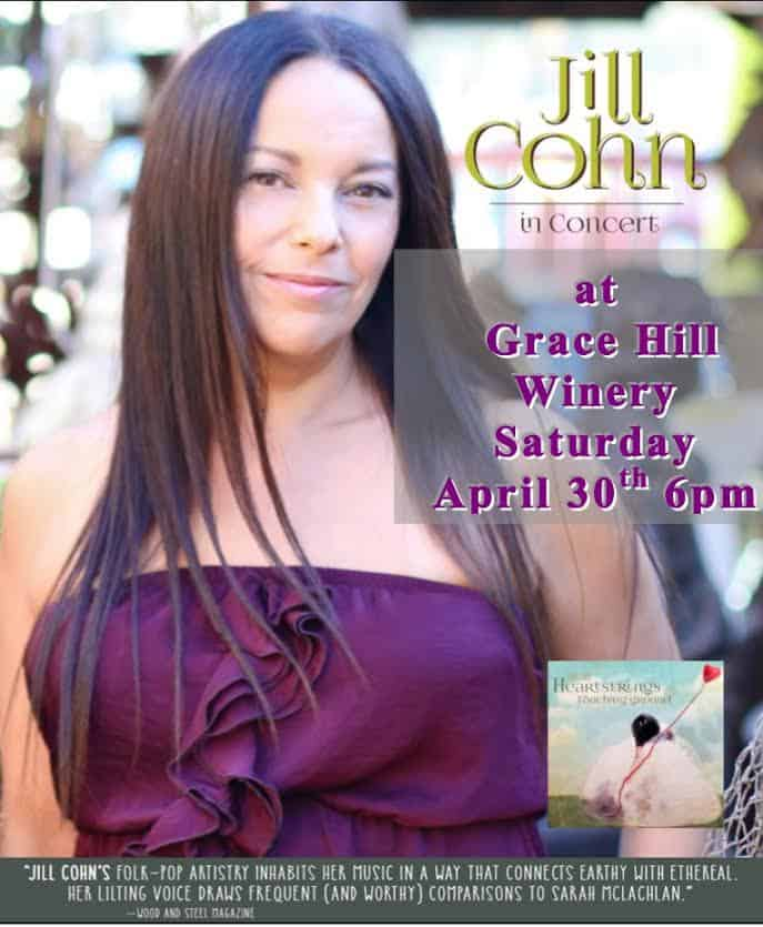Concert In The Courtyard At Grace Hill Winery