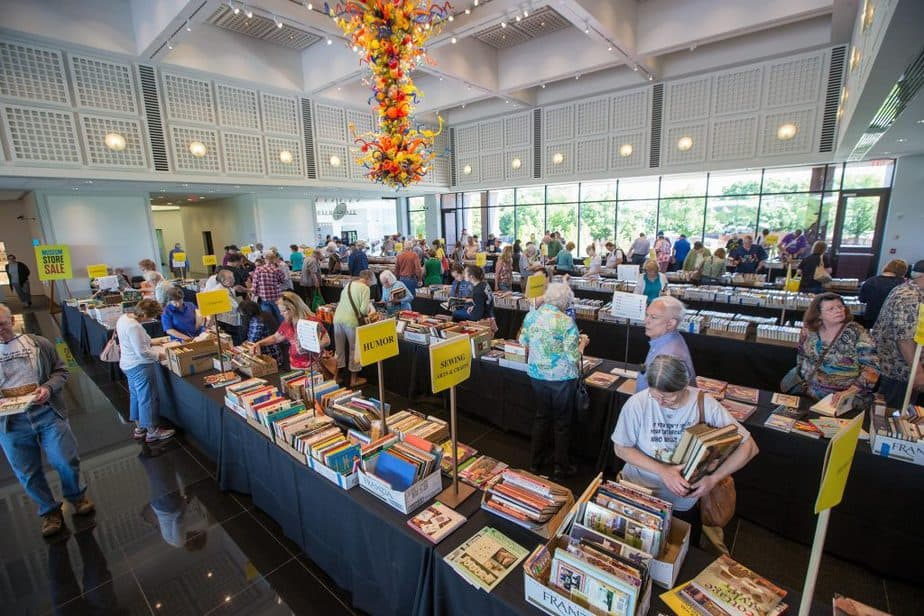 Mothers Day Art and Book Fair at the Wichita Art Museum