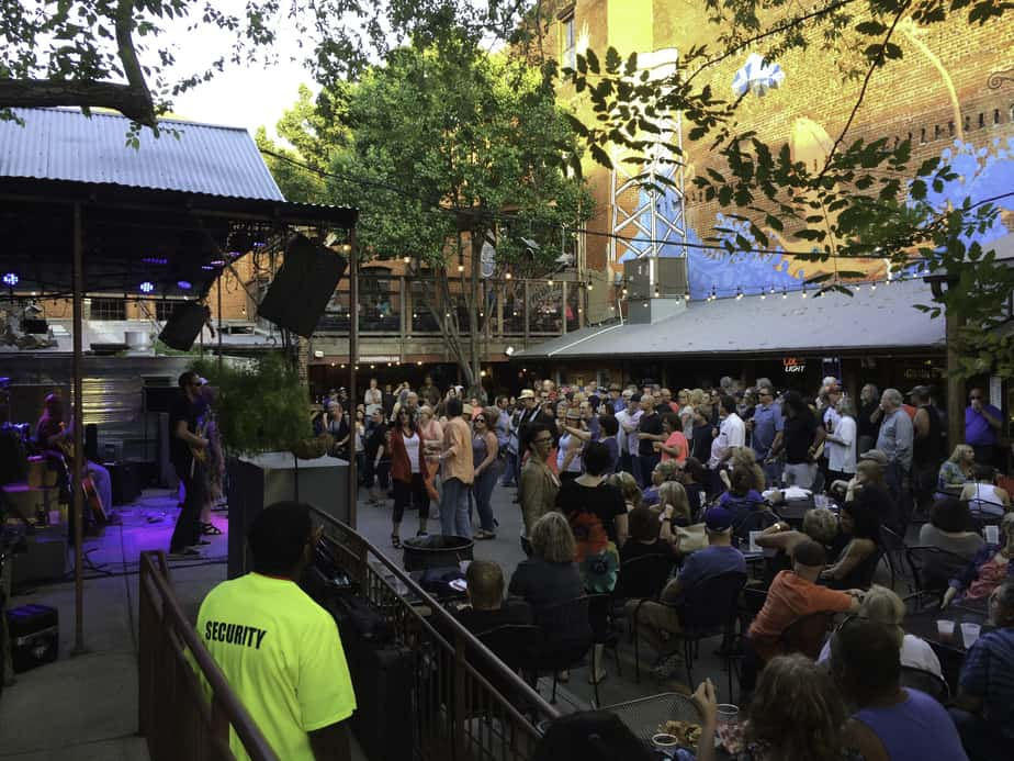 Wichita Blues Crawl at the Brickyard in Old Town