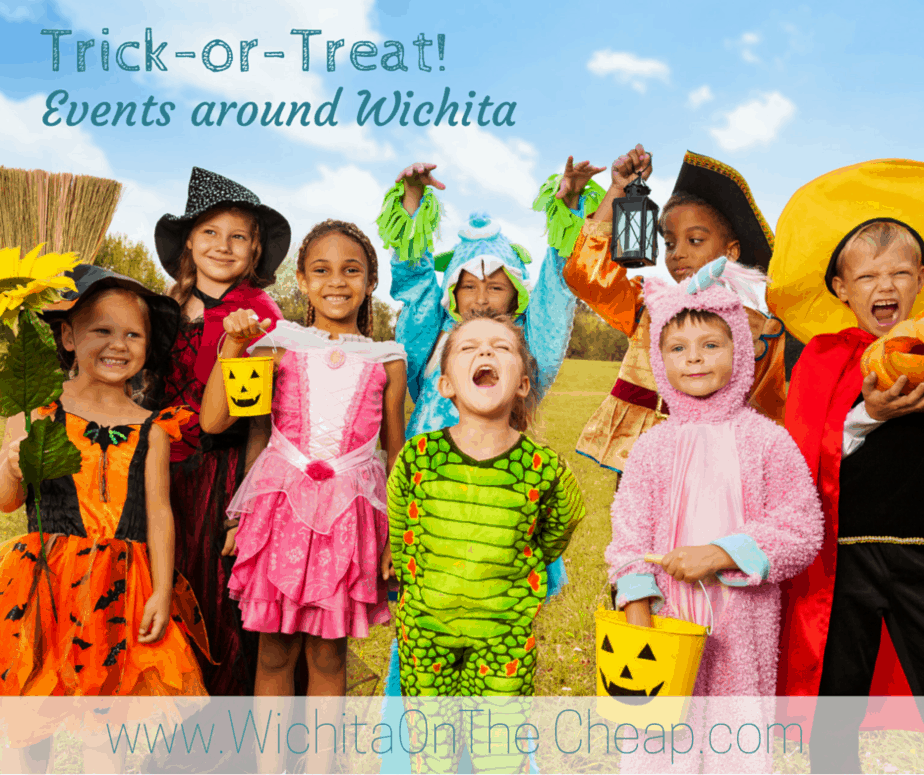 Wichita trick-or-treating, fall, and Halloween events