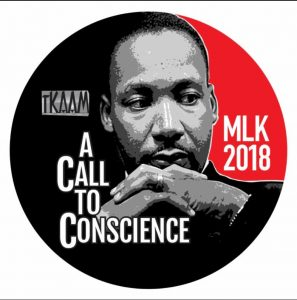 Martin Luther King Jr. 2018 button