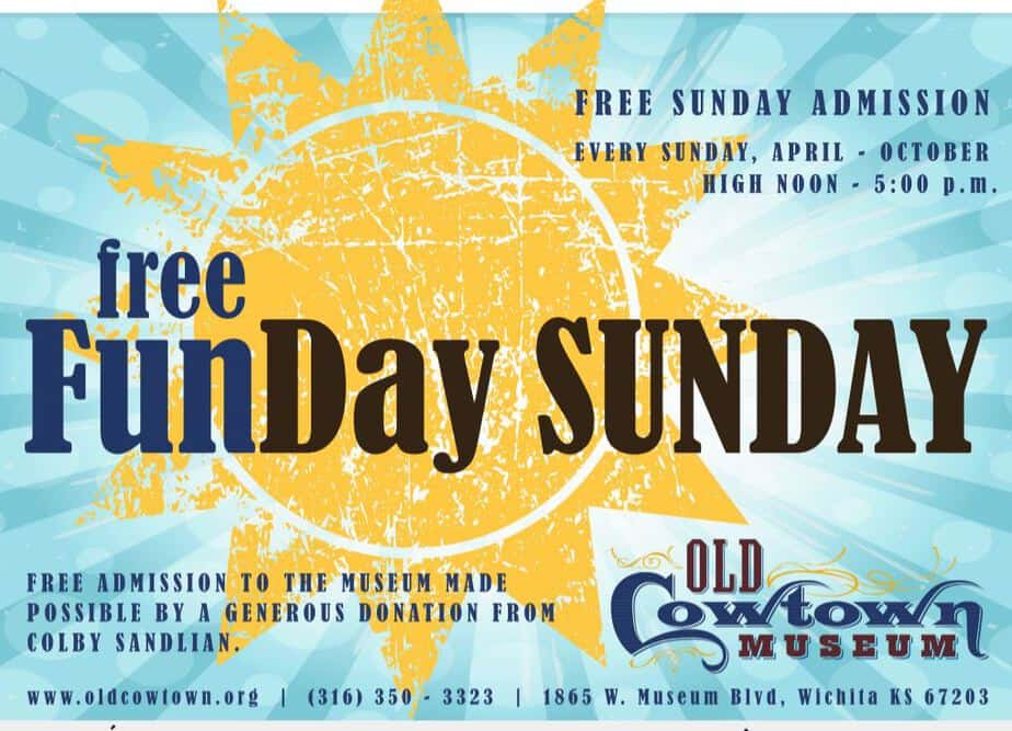 FREE admission to Cowtown Sunday afternoons from noon until 5 p.m. April through October