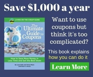 De-stress the coupon using experience! Save big money with the simple coupon strategies found in this book from the editors of Living on the Cheap!