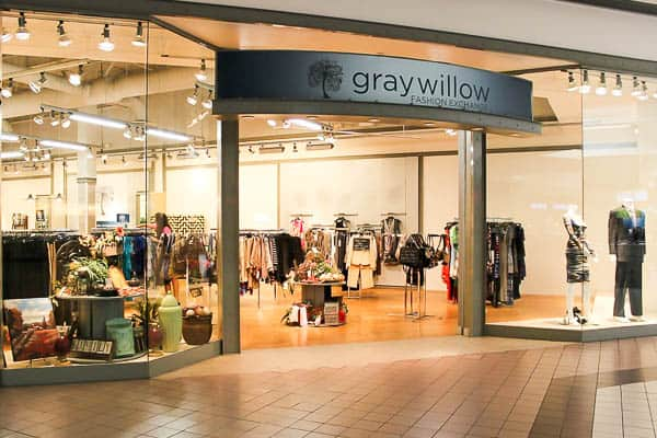 Gray Willow Goodwill consignment store in Towne West Mall