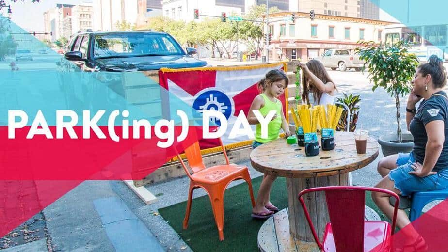 Parking Day Downtown Wichita third Friday in September