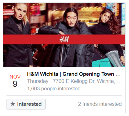 H&M Wichita in Towne East Square Mall!
