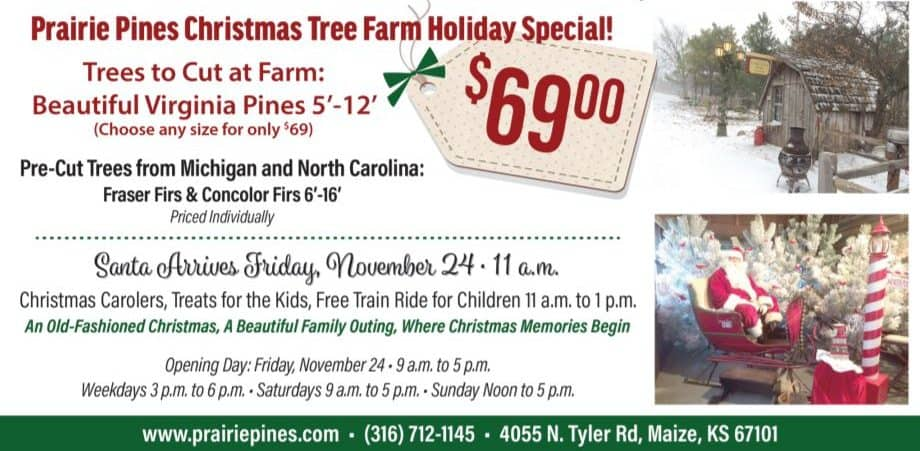 Prairie Pines Christmas Tree Farm Wichita KS
