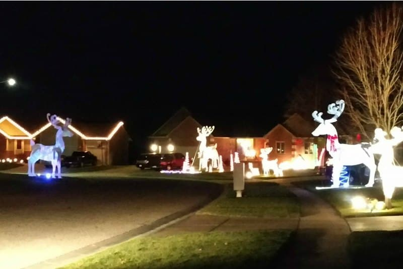 Reindeer Road | Where to see Christmas lights in Wichita