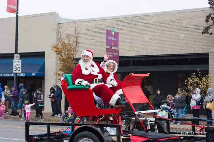 Wichita Santa Claus and Mrs. Claus
