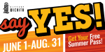 Say YES! to free summer activities for young people