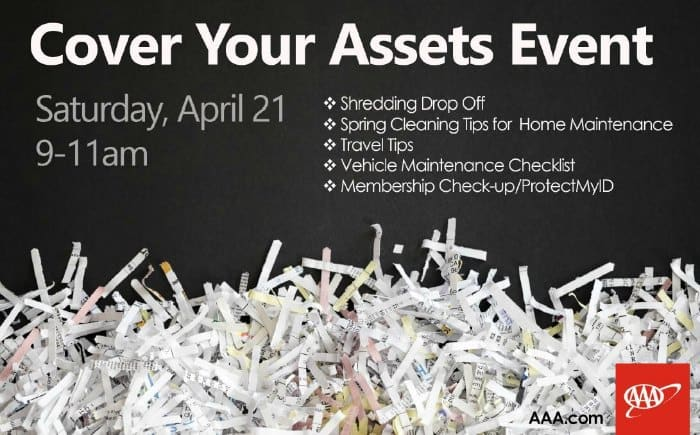 AAA free shred event in Wichita 2018
