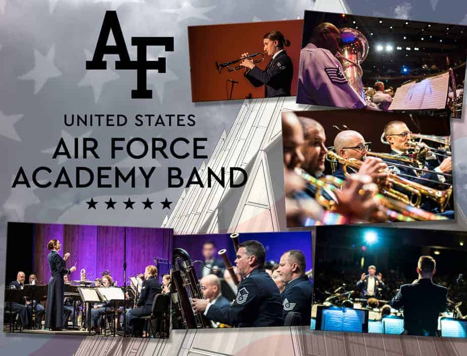 Air Force Academy Band to perform FREE family-friendly concert at Century II in Wichita