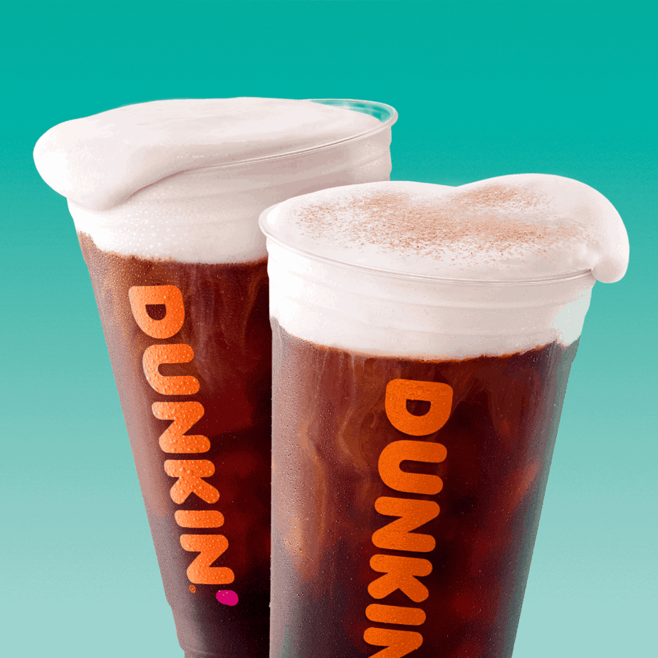 Dunkin's cold brew coffee special $3