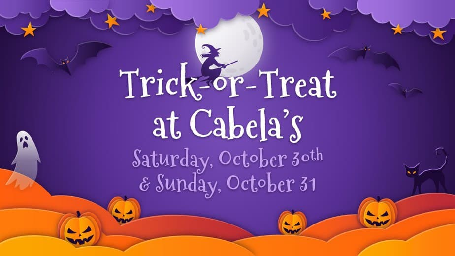 Trick-or-treating at Cabela's