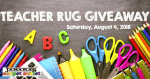 Back to School Rug Giveaway for Teachers