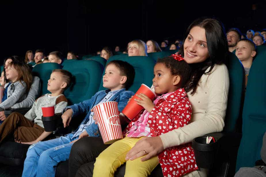 Kids movies at theater during summer