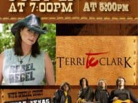 Terri Clark Little Texas at CapFed Amphitheater