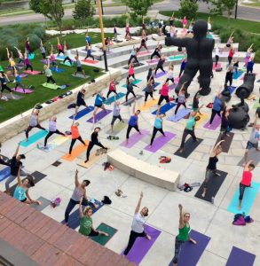 Free Yoga on the Lawn at the Wichita Art Museum this summer!