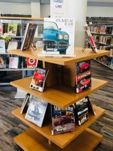 Bookstore-like displays in Wichita's new Advanced Learning Library