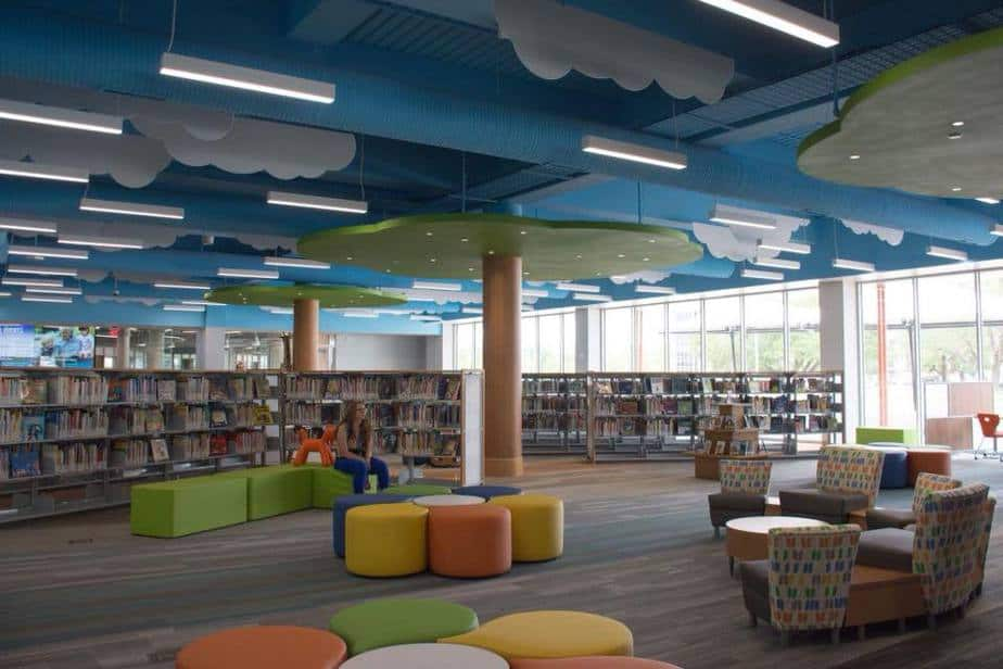 Wichita KS public library Children's Pavilion
