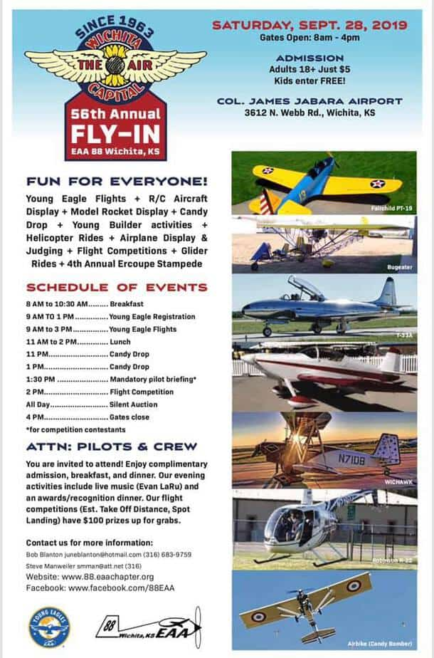 Wichita Air Capital Fly-In 2019 flyer