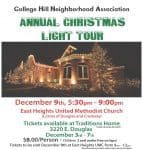 College Hill Christmas Lights Tour