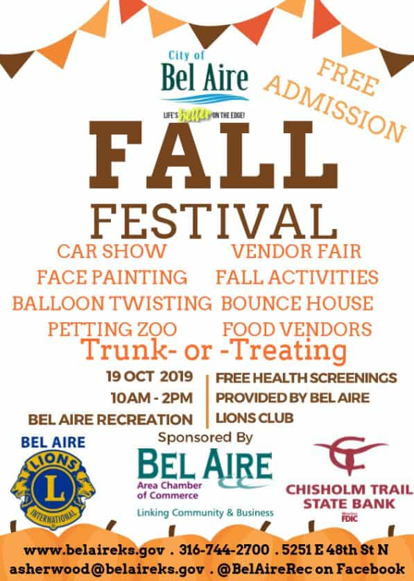 Bel Aire Fall Festival 2019
