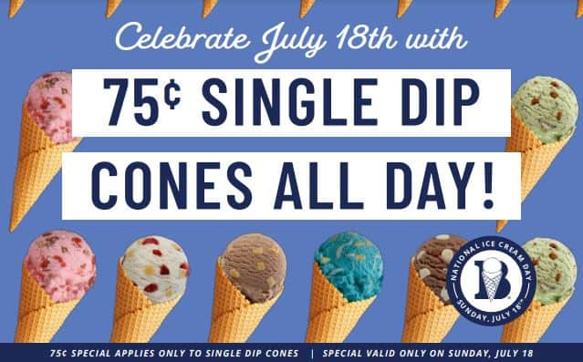 Braum's national ice cream day deal