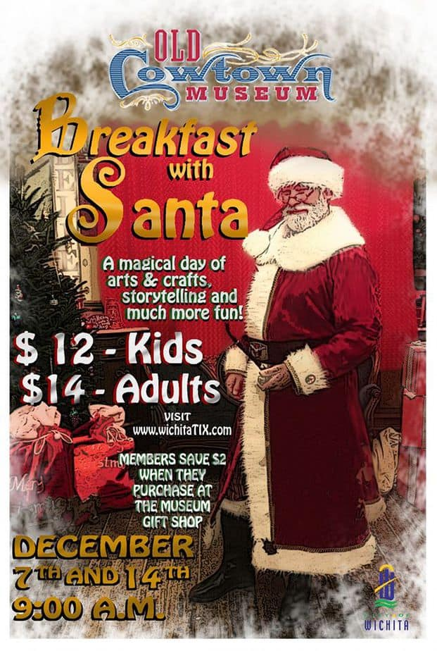 Breakfast with Santa at Cowtown 2019