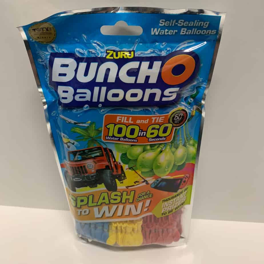 Bunch o balloons at awesome toy sale in wichita ks