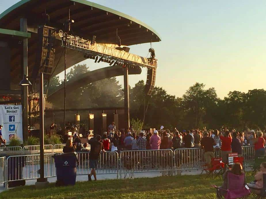 CapFed Amphitheater summer Andover concert in the park