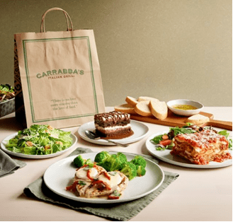 Carrabbas pickup or delivery discount