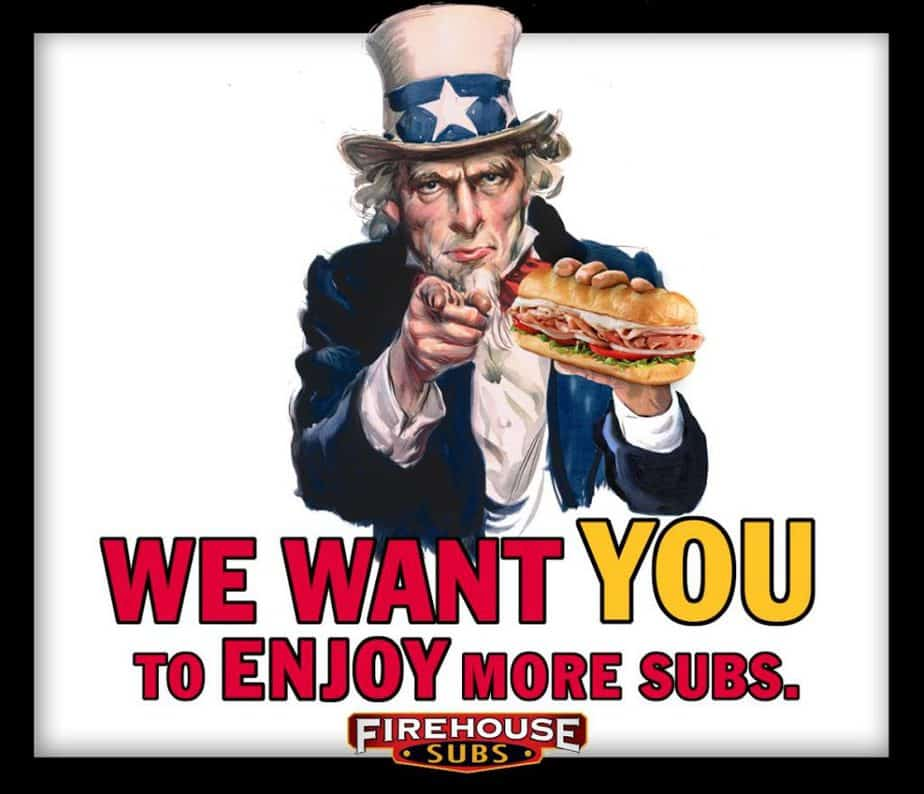 Firehouse subs tax day freebie