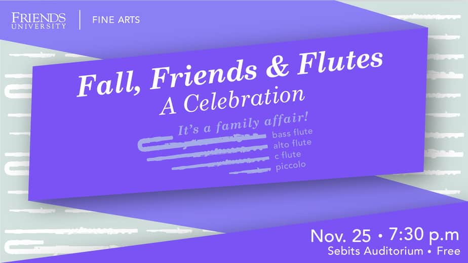 Friends University flute concert November 2019
