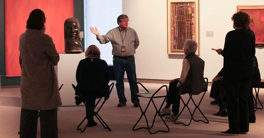 Docent-led tours of Preston Singletary: Raven and the Box of Daylight at Wichita Art Museum