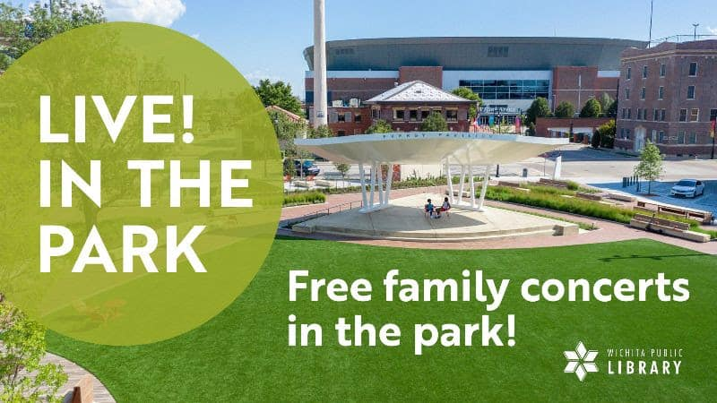 free family-friendly summer outdoor concerts from Wichita Public Library 2021