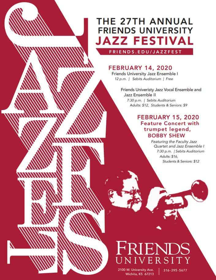 27th annual Friends University Jazz Festival featuring Bobby Shew 2020
